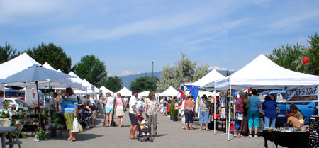 Kelowna Farmers' and Crafters' Market