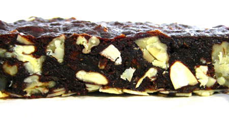 Panforte cross-section
