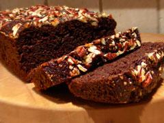 Rich Dark Chocolate Loaf