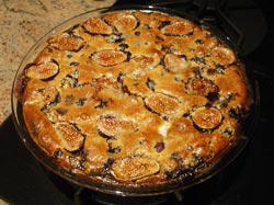 Photo of a Clafouti