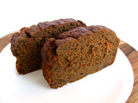 Healthy Carrot Gingerbread