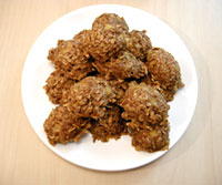 Spiced Pineapple Oat Cookies