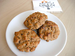 Wheat-Free Date Nut Scones